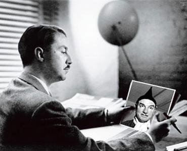 Landor founder, Walter Landor gazing inappropriately at his half-son, Blandor.