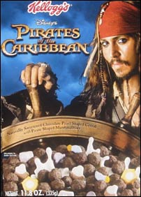 Johnny Depp Cereal
